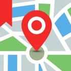 Сохранить местоположение GPS icon