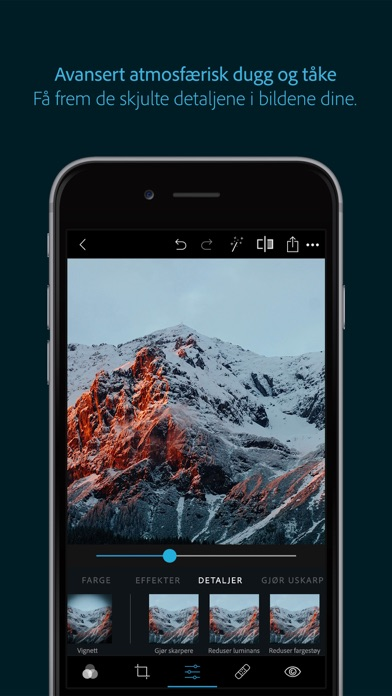 Screenshot for Adobe Photoshop Express in Norway App Store