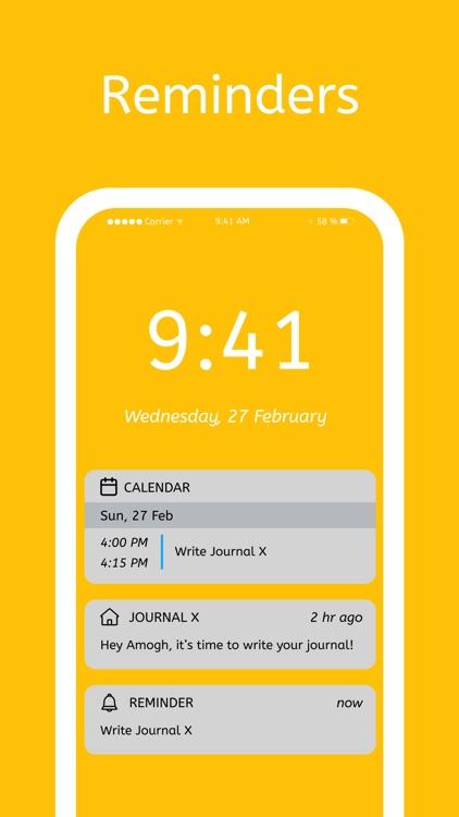 Journal X- My Personal Journal screenshot-5