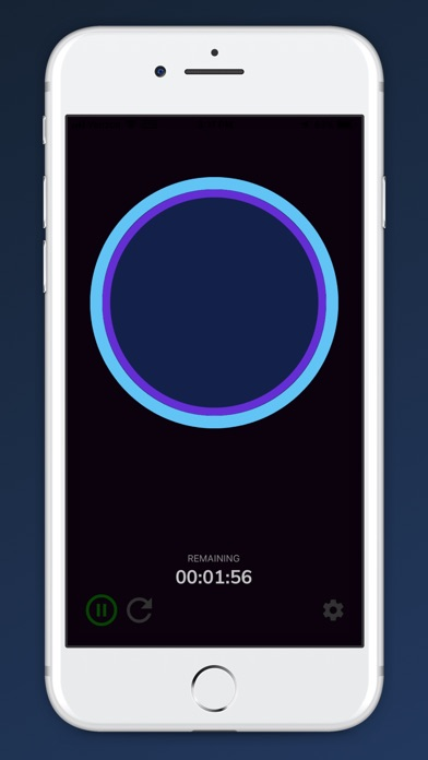 Screenshot for Awesome Breathing: Pacer Timer in Finland App Store