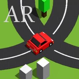 لعبة تحدي سباق الشوارع AR