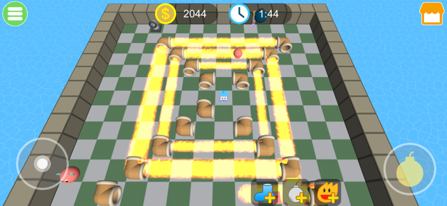 Bomber King 3D, game for IOS