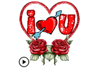 I Love You Valentine Animated
