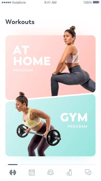 Screenshot for StrongHer: Female Fitness in Belgium App Store