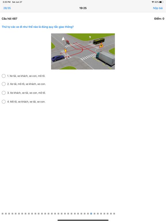 600 - Câu Hỏi Giấy Phép Lái Xe screenshot 19