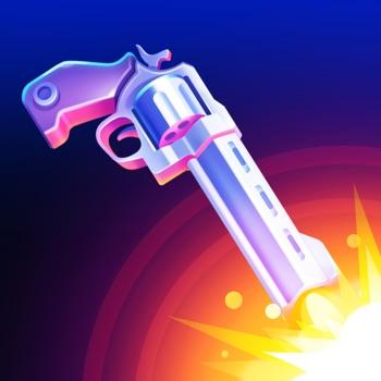 Flip the Gun - Simulator Game Logo