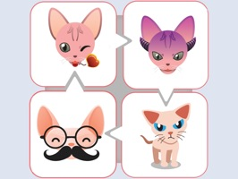 This sphynx cat sticker app includes a lot of real colorful sphynx cat  emoji art collections