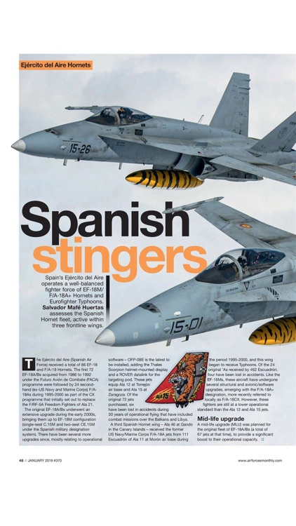 AirForces Monthly Magazine screenshot-3