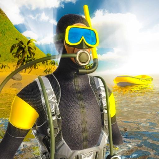 Scuba Diving Deep Sea Swimming