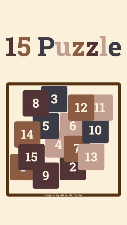 15 Puzzle*