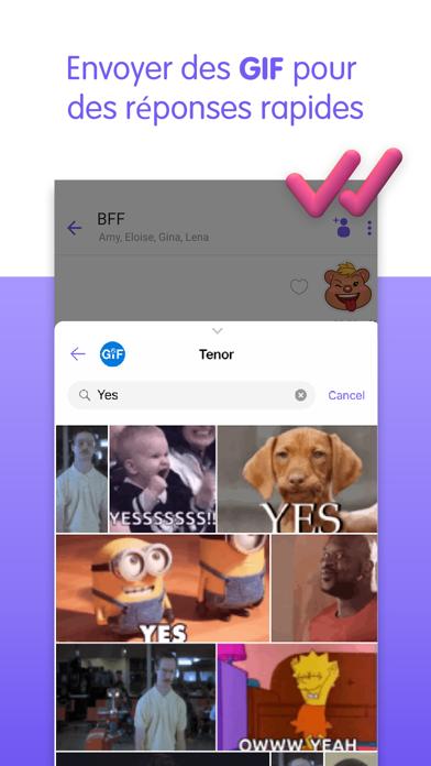 Viber Messenger: Appels Vidéo