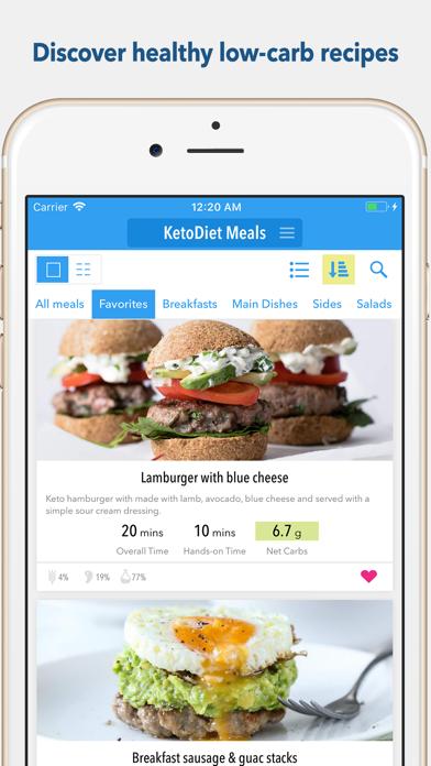 KetoDiet Screenshot on iOS