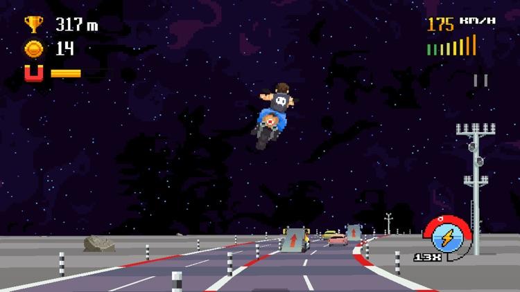Retro Highway screenshot-3