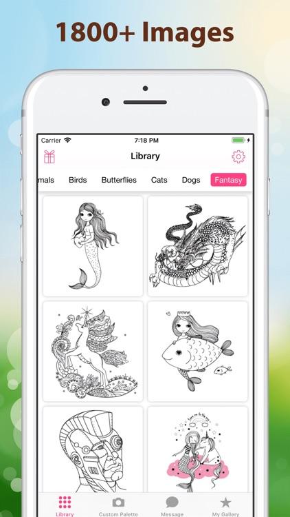 Color4u:Fun coloring art games