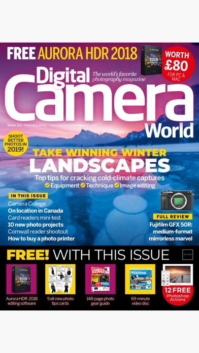 Screenshot for Digital Camera World in United Arab Emirates App Store