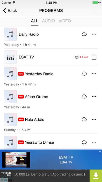 Radio ESAT screenshot-3