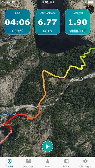 Topographic Maps & Trails Screenshot