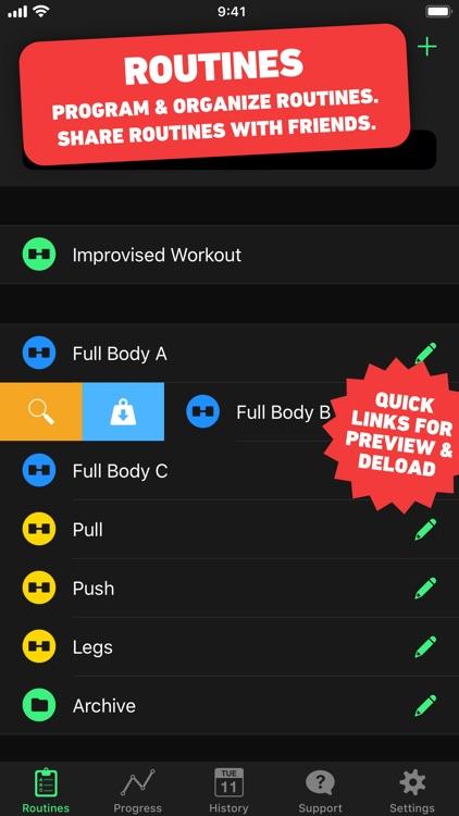 HeavySet - Gym Log Workout