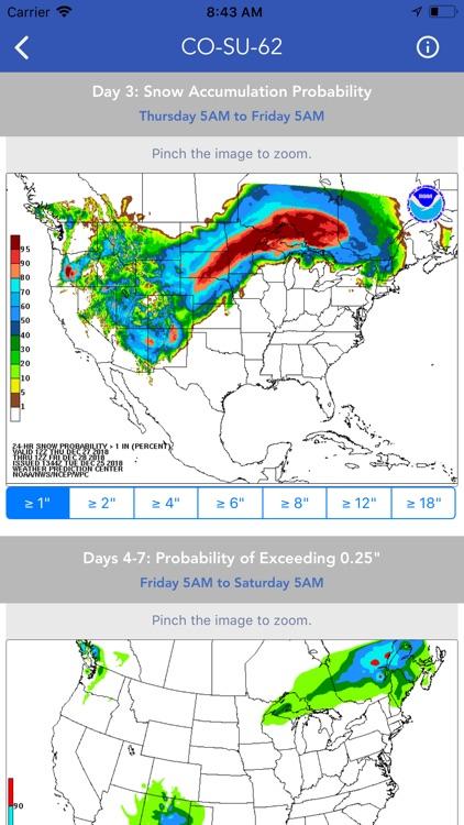 Snow Report & Forecast screenshot-8