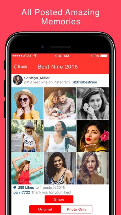 Best Nine 2018 For Insta