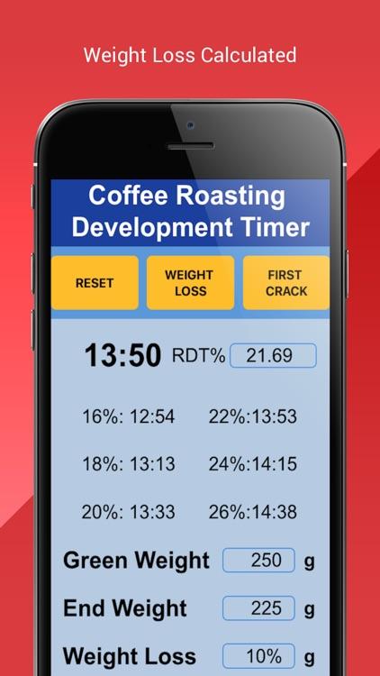 Coffee Roasting RDT Timer screenshot-4