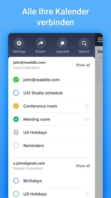 Kalender von Readdle: PlanerScreenshot von 9