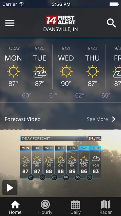 14FirstAlert Weather TriState screenshot-4