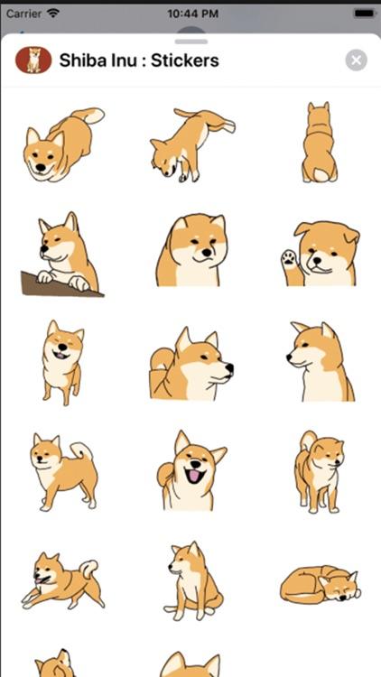 Shiba Inu : Stickers