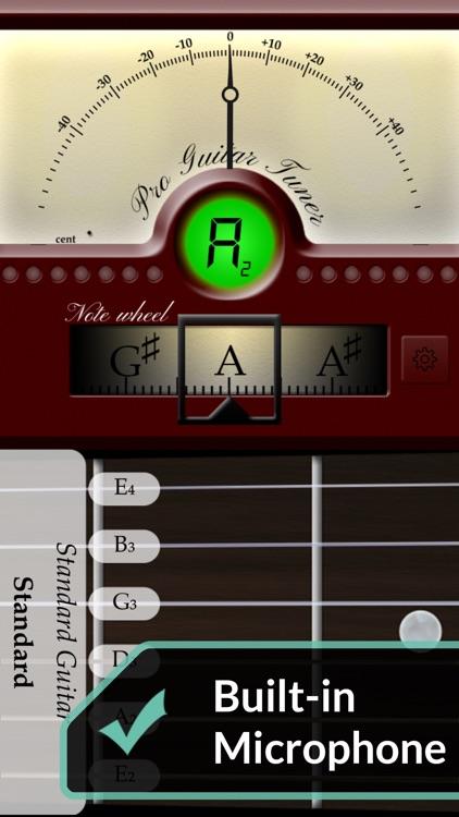 Pro Guitar Tuner screenshot-0