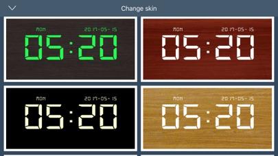 デジタル時計 - LED 目覚まし時計のおすすめ画像6