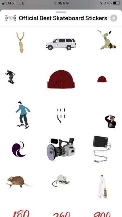 The Best Skateboard Stickers screenshot-0