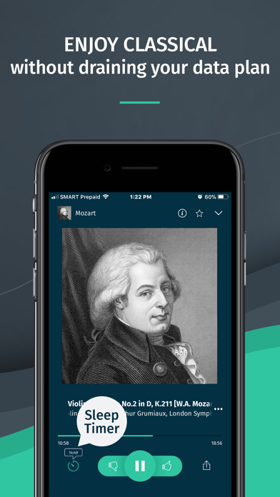 Classical Radio - Great Music Screenshot