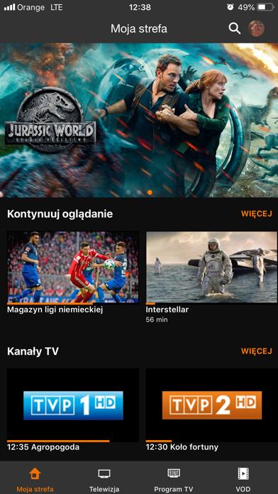 Orange TV Go screenshot one