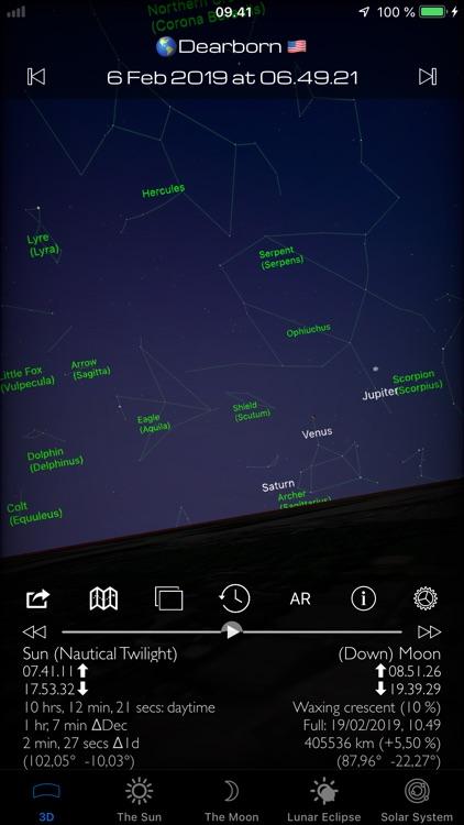 Sun and Moon Sky Finder AR Pro screenshot-4
