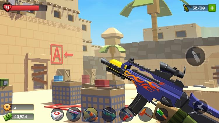 Pixel Combat: Zombie Games 3-D screenshot-3