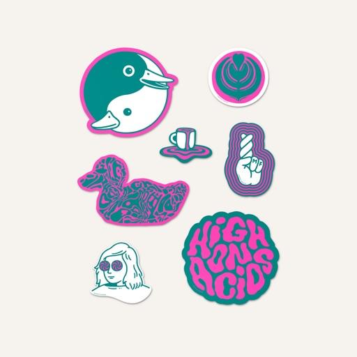 Minor Figures HOA Stickers