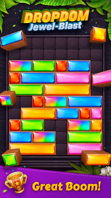 download Dropdom™ Puzzle Block Jewel indir ücretsiz - windows 8 , 7 veya 10 and Mac Download now