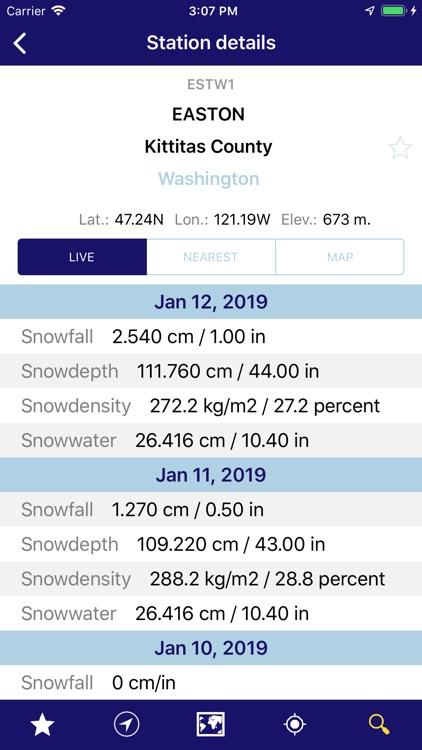 NOAA Snow Live Weather PRO
