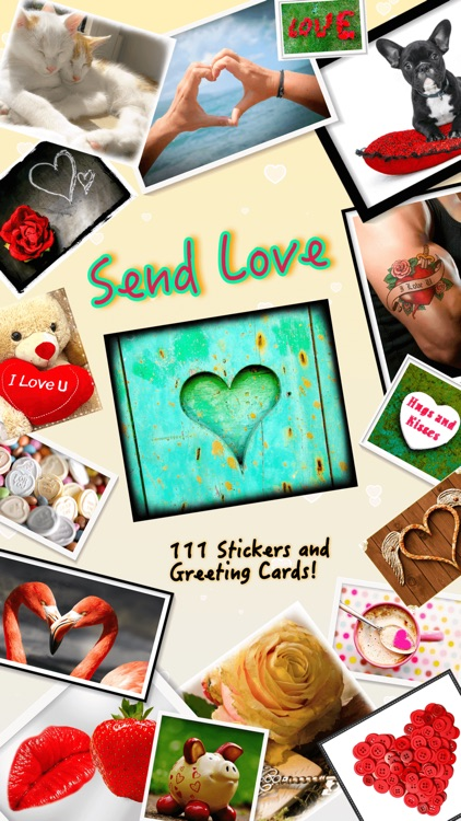 Send Love • Greeting cards screenshot-0