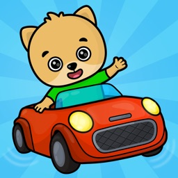 Car games for kids - baby race