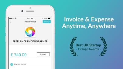 Invoice & Expense with Albert screenshot one