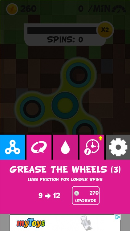 Tonja Fidget Spinner screenshot-3