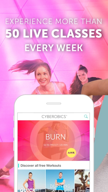 CYBEROBICS: Fitness & Workout screenshot-0