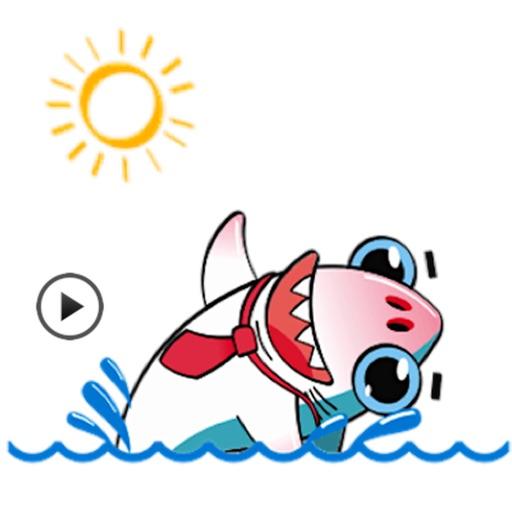 Animated Cute Business Shark