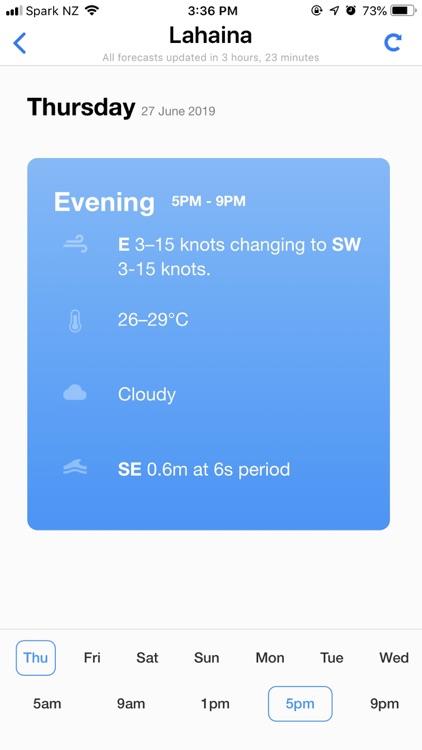 PredictWind — Marine Forecasts screenshot-5