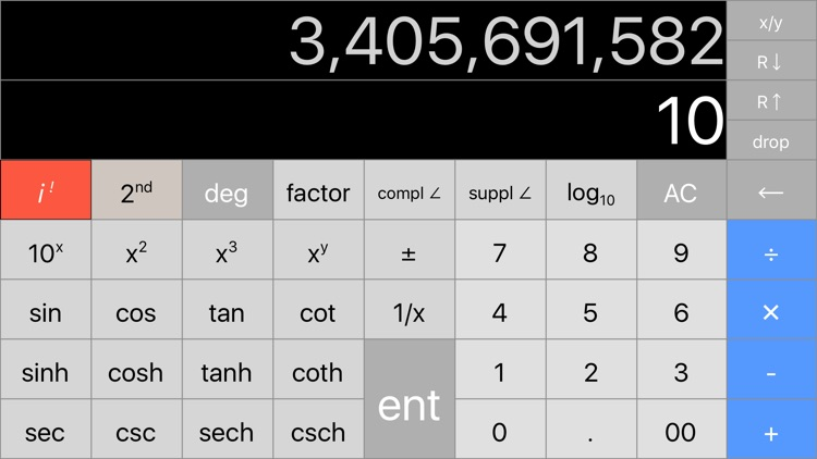 |RPN| Scientific Calculator screenshot-3