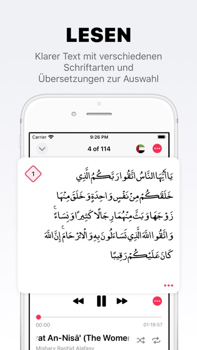 messages.download Koran Pro · Quran software