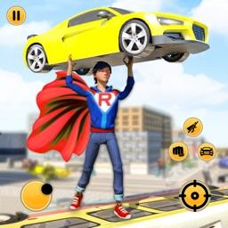 Flying Superboy Survival Hero