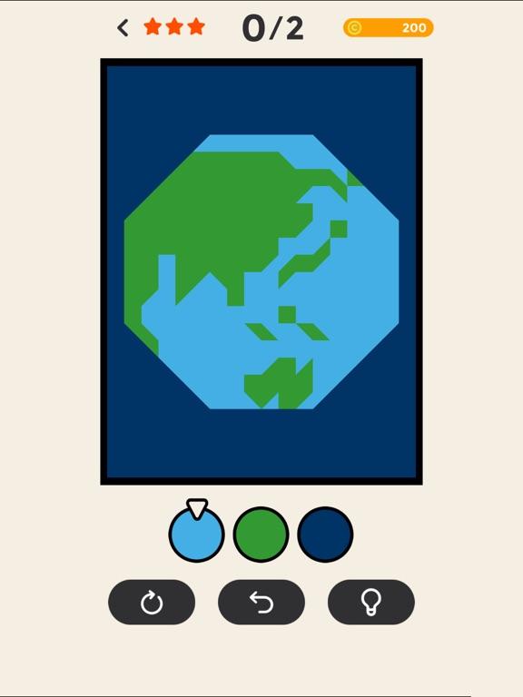 Скачать игру ERASE - coloring puzzle game