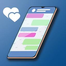 Hey Love Chris: Text Story